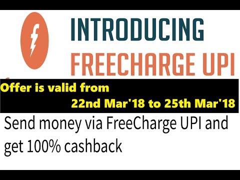 Send money via FreeCharge UPI and get 100% cashback || Tech News Telugu