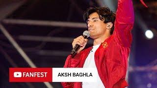 AKSH BAGHLA @ YouTube FanFest Mumbai 2018