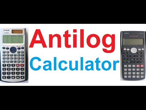 How To Find Antilog Using Scientific Calculators(Casio fx-991ES & fx-82MS)
