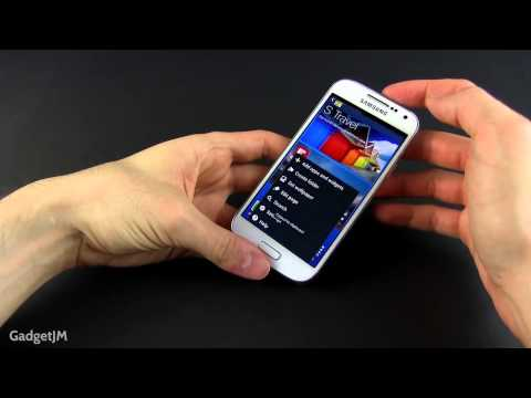 How to take a screenshot on the Samsung Galaxy S4 Mini