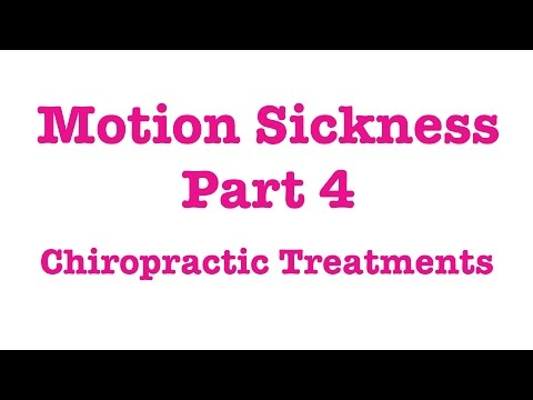 Motion Sickness In Dogs Part 4 - Chiropractic Treatment