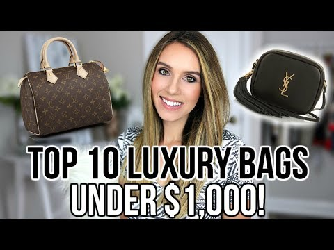 TOP 10 BEST LUXURY DESIGNER BAGS UNDER $1,000 | Shea Whitney
