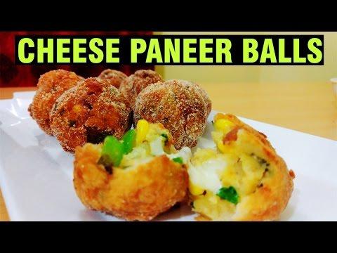Cheese Corn Balls | How to make Cheese paneer balls | Cheese Ball Recipe | Jain Recipes