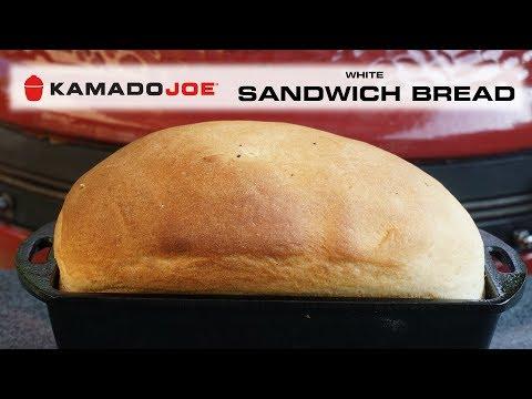 Kamado Joe White Sandwich Bread