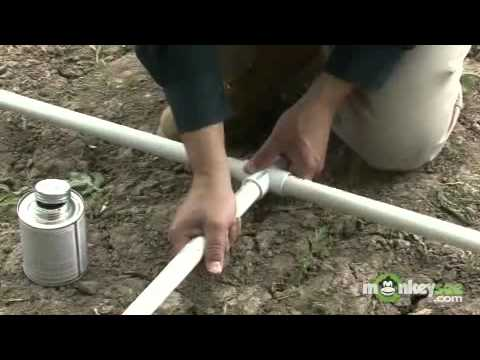 Building a Greenhouse - Constructing the PVC Frame