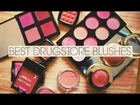 My Favourite Drugstore Blushes 2017