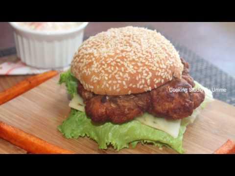 KFC স্টাইলে স্পাইসি জিঙ্গার বারগার || KFC Zinger Burger Recipe Bangla || Bangladeshi Burger Recipe