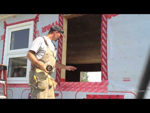 How To Install A Window (New Construction)
