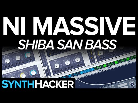 Massive Tutorial - Shiba San 'OKAY' Deep G House Bass