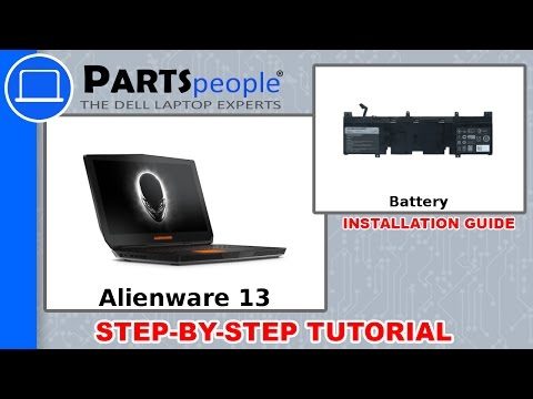 Dell Alienware 13 (P56G001) Battery How-To Video Tutorial