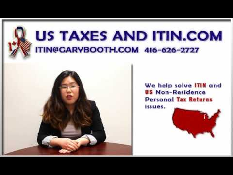ITIN Agent.com | IRS Certified Acceptance Agents, W7 Form help, 416-626-2727