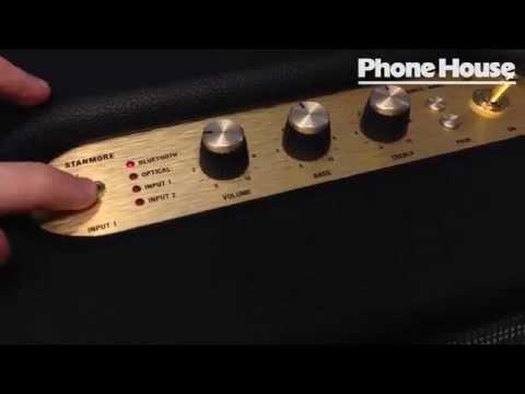 Första titten på Marshall Stanmore-högtalaren