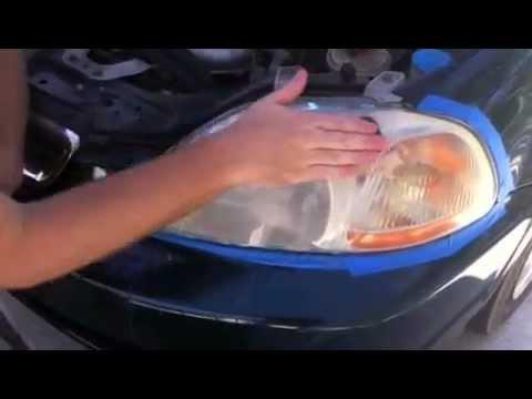 DIY Headlight Restoration