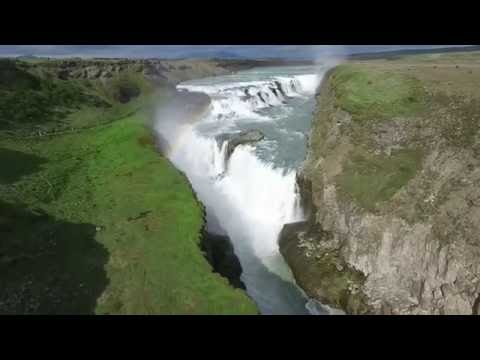 Iceland Summer Reykjavik and Gullfoss waterfalls Phantom 3 Advanced and GoPro 4 - The Tailored Pixel