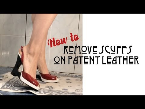 How to Remove Scuff Marks From Patent Leather⎜VINTAGE TIPS & TRICKS⎜VLOGTOBER DAY 16