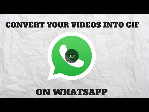 How to Convert Videos into GIF on WhatsApp