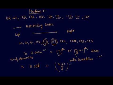What is Median | Class 7 Mathematics Data Handling
