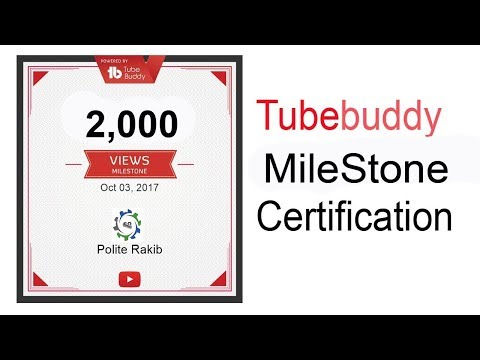 How to Get Milestone Certificates for Your YouTube Channel!