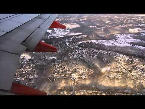 Southwest Boeing 737-700 Pittsburgh landing
