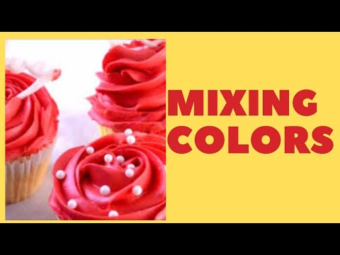 Red Colored Icing