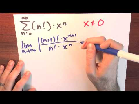 What if the radius of convergence is zero? - Week 5 - Lecture 6 - Sequences and Series
