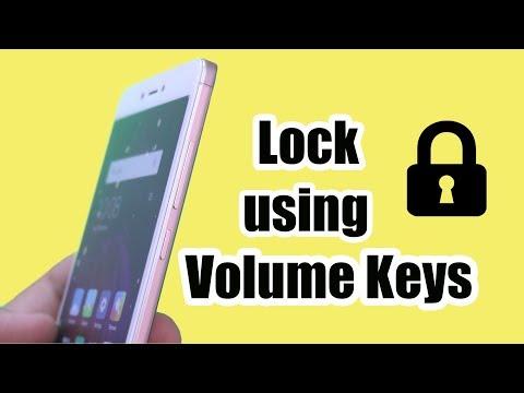 Lock using VOLUME Keys on Android 2018