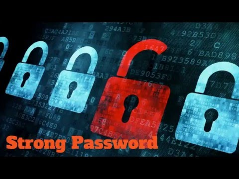 Create Easy To Remember Strong Passwords