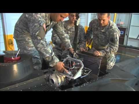 Army Careers 15T - UH-60 Helicopter Repairer
