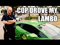 PULLED OVER by Coolest Cop Ever! Much Respect! So We Let Him Drive The Lambo Australia Cops Supercar