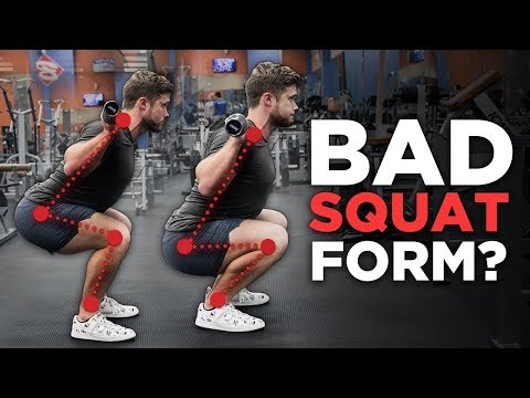 Should The Knees Go Past the Toes? (Proper SQUAT Technique Explained)
