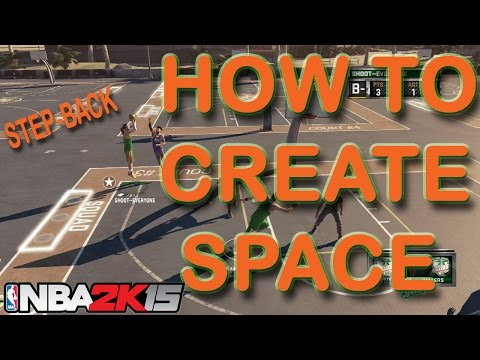 NBA 2K15 | How to Create Space / Do Step Back Jumper (Tutorial)