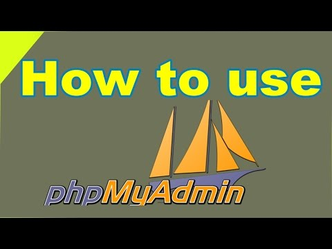 How to use phpMyAdmin and edit database file (In Hindi)