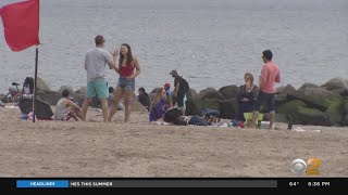 NYC Working On Social Distancing Beach Guidelines