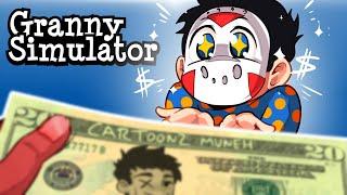 "Granny Simulator | ""GRANNYTOONZ, CAN I HAVE TWENTY DOLLARS?!"""