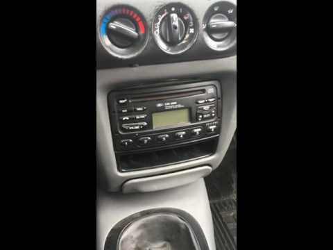 Desbloqueio Digitando Código Rádio Ford CDR4600