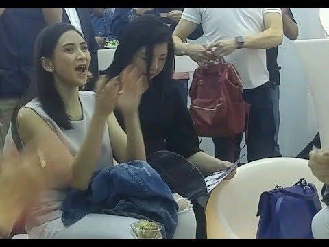 Ang cute ni Sarah G. mag-cheer for Matteo, super supportive at sweet gf talaga!