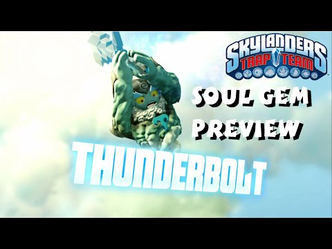 Thunderbolt Soul Gem Preview and Location - Skylanders Trap Team 1080P
