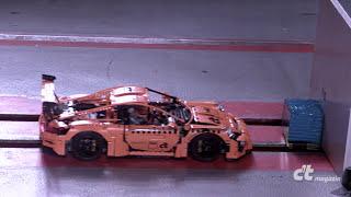 LEGO Porsche Crashtest in Slow-Motion
