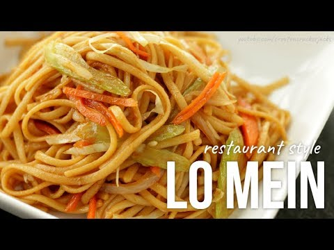 How to Make Vegetable Lo Mein!! Homemade Lo Mein Recipe