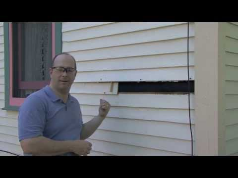 What Dads Do: Replacing 1 Clapboard