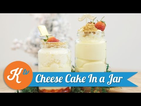 Resep Cheese Cake In a Jar | Savira Pradiati