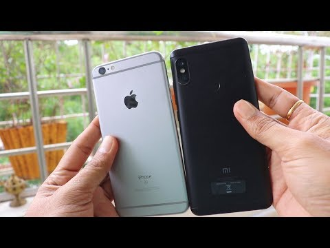 Older iPhones VS Today's Budget Android | Redmi Note 5 PRO VS iPhone 6s +