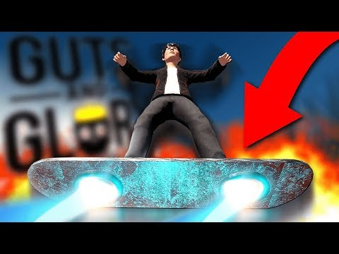 THIS IS JUNIOR & THIS IS HIS HOVERBOARD! - How To Unlock - Guts And Glory Gameplay
