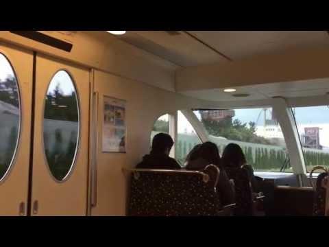 Tokyo DisneySea Monorail Ride - February 2015 - Quick Clips