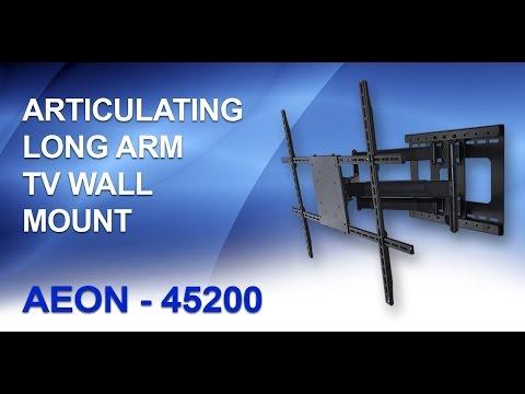 Articulating TV Wall Mount - Long Arm TV Mount || AEON-45200