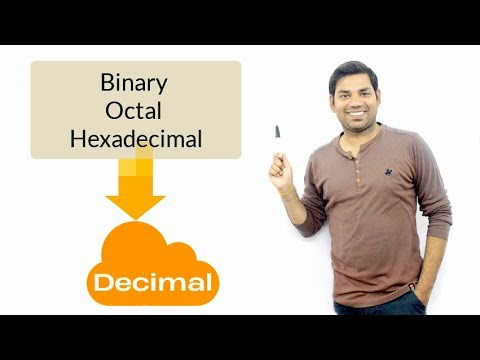 How to Convert Any Number to Decimal Number? (HINDI)