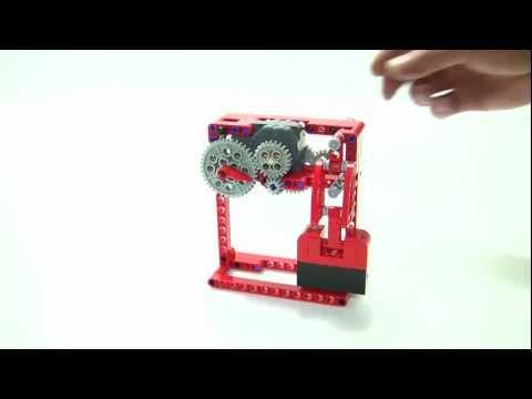 tick-tack sound generator : LEGO Technic