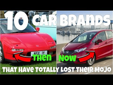 Top 10 Car Brands That Have Totally Lost Their Mojo