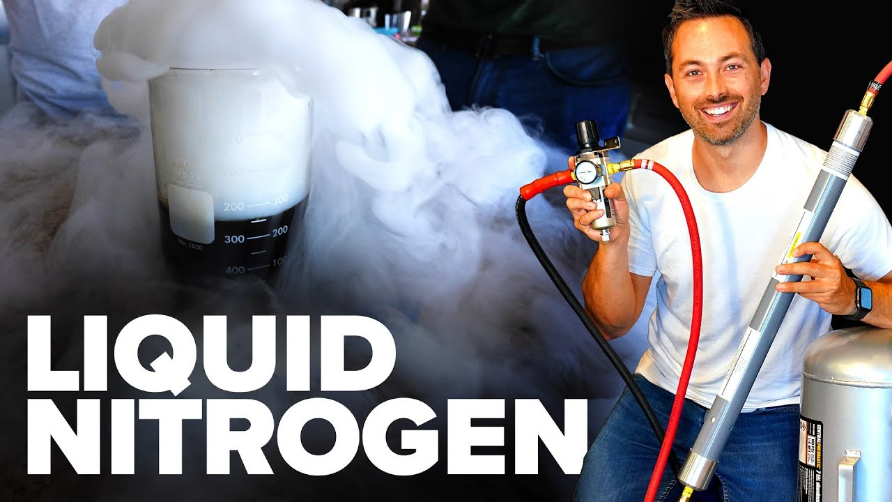 Making Liquid Nitrogen From Scratch!