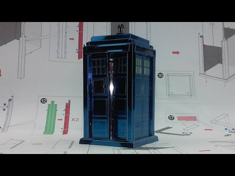 Metal Earth Build - Tardis - Doctor Who